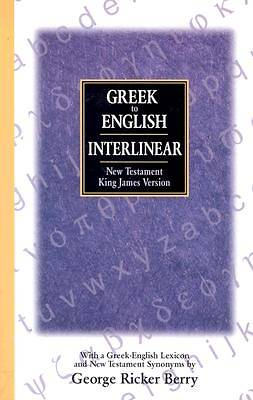 Greek to English Interlinear New Testament-KJV