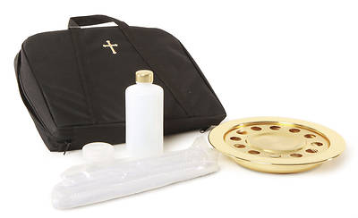 Brasstone 12-Cup Portable Communion Set