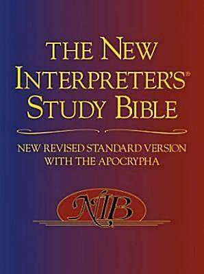 Picture of The New Interpreter's Study Bible
