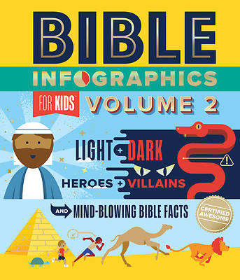 Picture of Bible Infographics for Kids Vol. 2