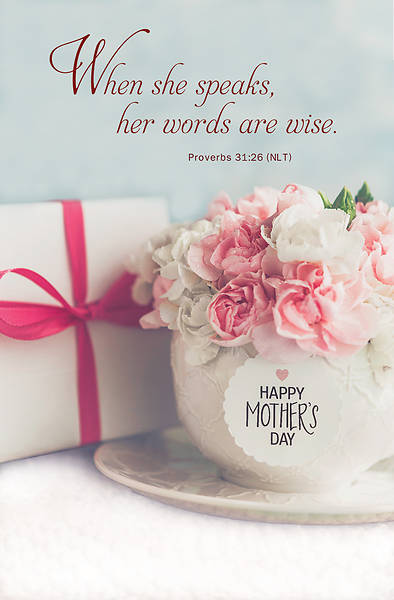 She Speaks Mothers Day Regular Size Bulletin