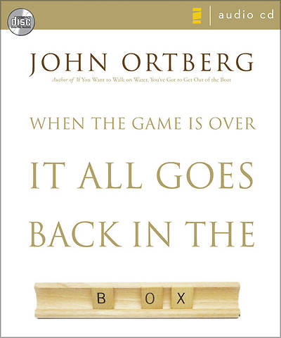When the Game Is Over, It All Goes Back in the Box Audio CD