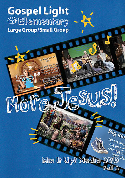 Picture of Gospel Light Large/Small Group Grade 1-4 Mix It Up DVD Fall Year A