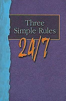 Three Simple Rules 24/7 Student Book