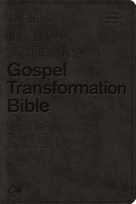 ESV Gospel Transformation Bible (Trutone, Black)