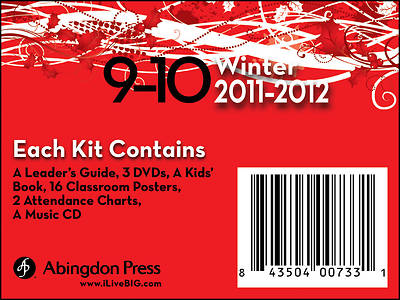 Picture of Live B.I.G. Ages 9-10 DVD Winter Kit 2011-2012
