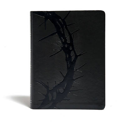 Picture of KJV Study Bible, Charcoal Leathertouch, Indexed