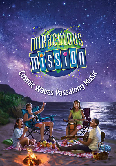 Cosmic Waves Music Download Card - VBS 2019