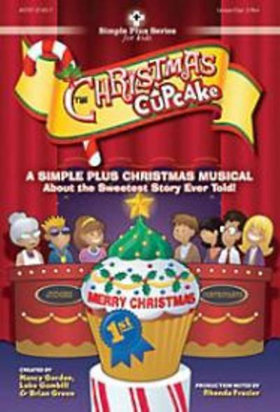 Picture of The Christmas Cupcake Split-Track Accompaniment CD (Musical)