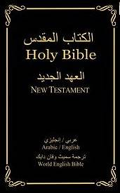 Arabic / English Bilingual Bible - Hc