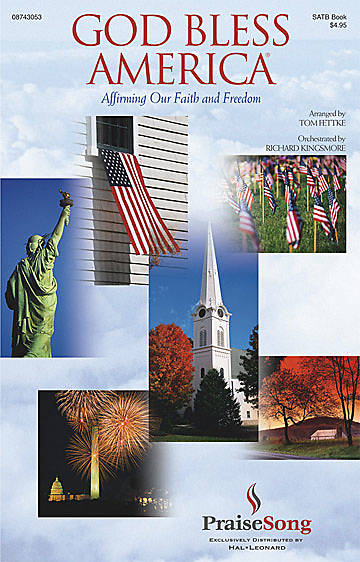 God Bless America Choral Book