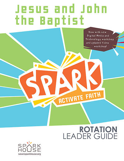 Picture of Spark Rotation  Jesus and John the Baptist  Leader Guide