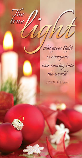Picture of The True Light Christmas Offering Envelope - Pack of 100
