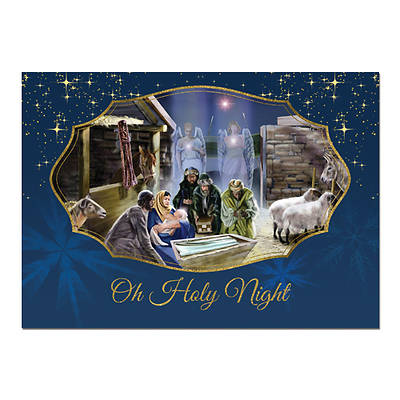 O Holy Night Christmas Card