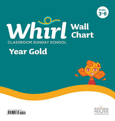 Whirl Classroom Grades 3-6 Wall Chart Year Gold