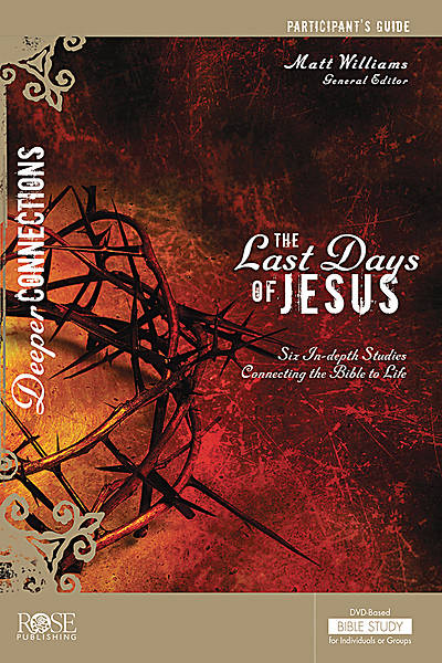 Picture of The Last Days of Jesus Participant Guide