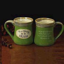 Picture of Tis a Blessing to Be Irish Pottery Mug