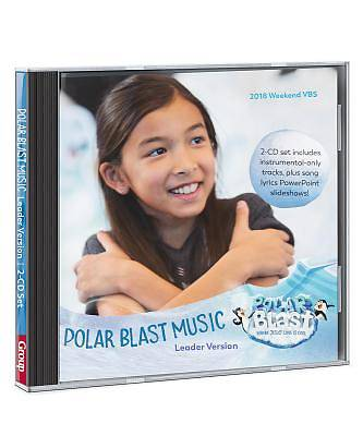 Vacation Bible School (VBS) 2018 Polar Blast Music Leader Version 2-CD Set