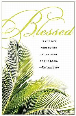 Palm Sunday Bulletin 2011, Regular (Package of 50)