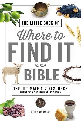 Picture of The Little Book of Where to Find It in the Bible