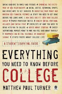Everything You Need to Know Before College [ePub Ebook]