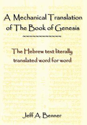 Picture of A Mechanical Translation of the Book of Genesis