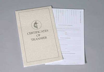 United Methodist Certificates of Transfer (Booklet of 32)