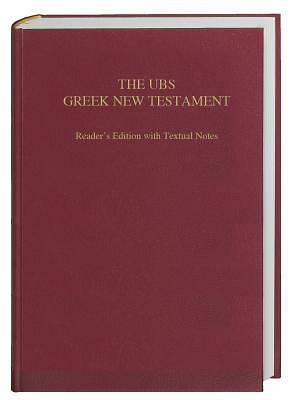 The UBS Greek New Testament
