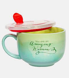 Picture of Amazing Woman Soup Mug 18 oz.