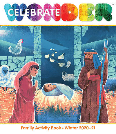 Picture of Celebrate Wonder Family Activity Book Winter 2020-2021 (Pack of 5)