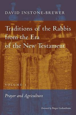 Traditions of the Rabbis from the Era of the New Testament, Volume 1