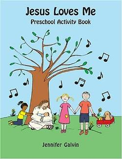 Picture of Jesus Loves Me Pre-School Activity Book