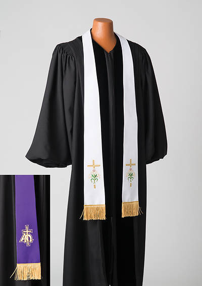 Reversible  Lent/Easter Stole