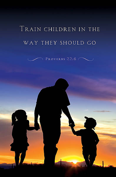 Father with Children Fathers Day Bulletin 2014, Regular (Package of 50)