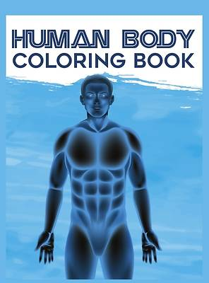 Picture of Human Body Coloring Book