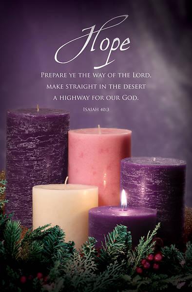 Picture of Advent Bulletin Week 1 Isaiah 40:3 Regular