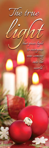 Picture of The True Light Christmas Bookmark - Pack of 25