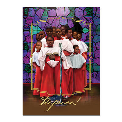 Rejoice Choir Christmas Card