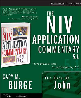 Picture of The NIV Application Commentary 5.1: The Book of John
