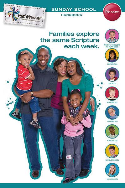 Picture of Group's FaithWeaver Parent Handbook Fall 2012