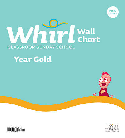 Picture of Whirl Classroom Grade PreK - Grade 2 Wall Chart Year Gold
