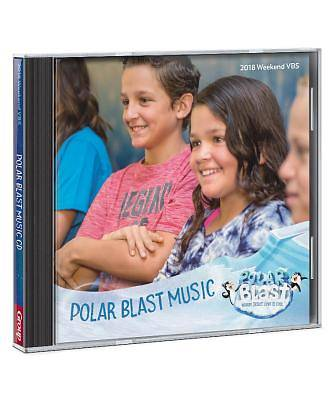 Vacation Bible School (VBS) 2018 Polar Blast Music CD