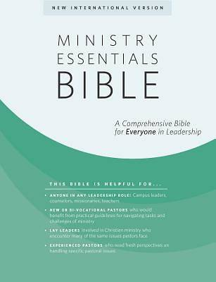 Picture of Ministry Essentials Bible-NIV