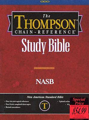 Picture of Thompson Chain-Reference Study Bible-NASB