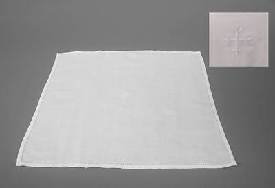 Picture of Cambric Linen Corporal with White Cross - Pack of 3