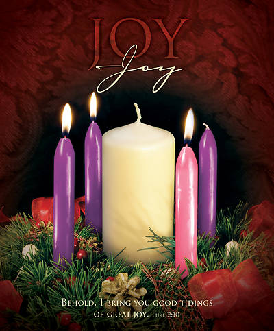 Picture of Joy Advent Week 3 Legal Size Bulletin