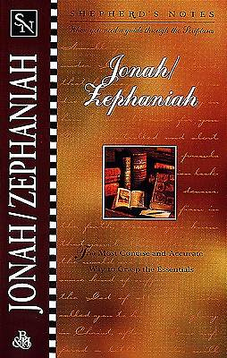 Shepherds Notes - Jonah Zephaniah