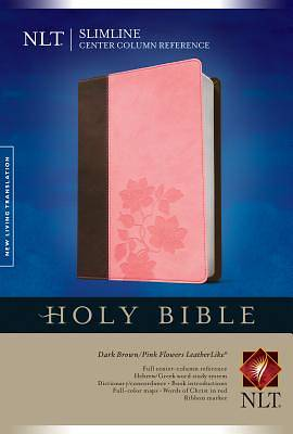 Slimline Center Column Reference Bible NLT, Tutone