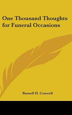 Picture of One Thousand Thoughts for Funeral Occasions