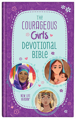 Picture of The Courageous Girls Devotional Bible